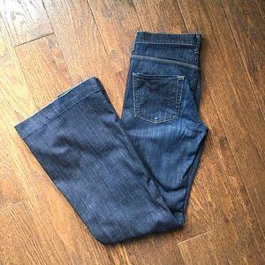 7 For All Man Kind Flare Jeans Ginger 27